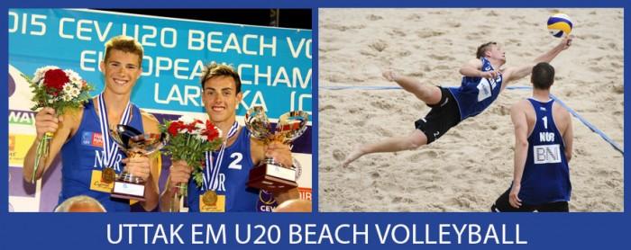 Uttakk EM U20 Beach Volleyball